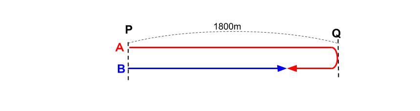中学受験算数カンガループリント 旅人算標準0080