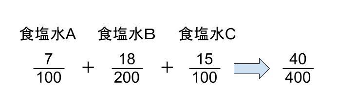 中学受験算数カンガループリント 食塩水の複数回移動  0025