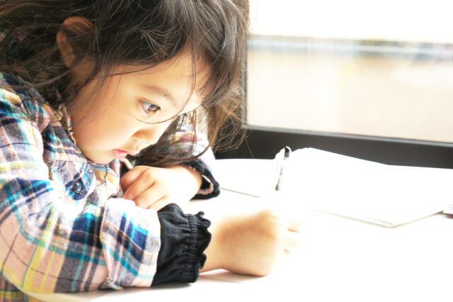 中学受験算数の家庭学習教材 カンガループリント トップページ 勉強する子ども写真