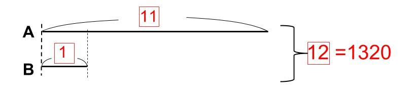 中学受験算数カンガループリント 倍数と線分図 0075