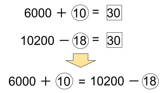 中学受験算数カンガループリント 比と消去算 0240