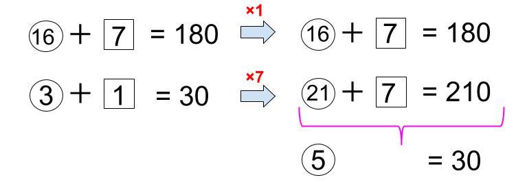 中学受験算数カンガループリント 異なる2つの比1003