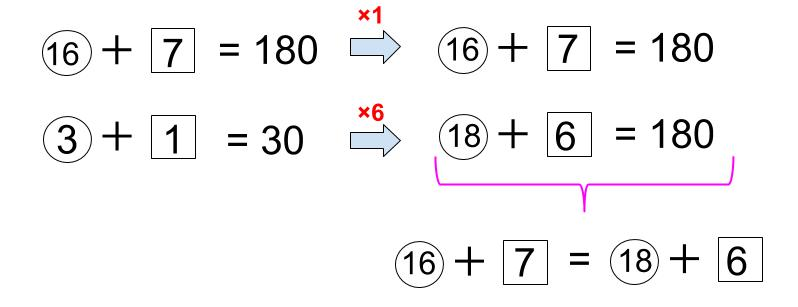中学受験算数カンガループリント 異なる2つの比1007