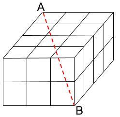 中学受験算数カンガープリント 直方体のくしざし0210