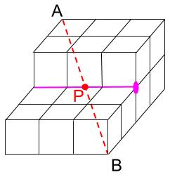 中学受験算数カンガープリント 直方体のくしざし2302