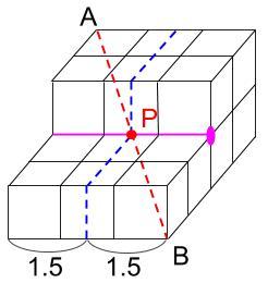 中学受験算数カンガープリント 直方体のくしざし240