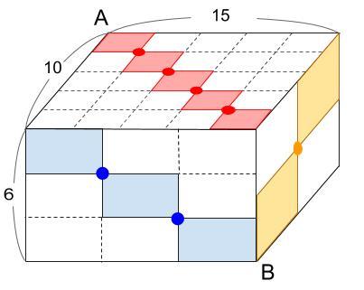 中学受験算数カンガープリント 直方体のくしざし360