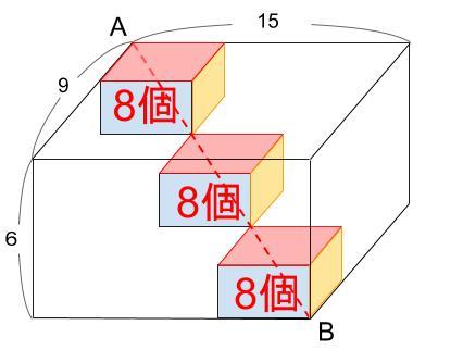 中学受験算数カンガープリント 直方体のくしざし421