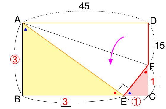 中学受験算数カンガープリント 直角三角形3:4:5 0402