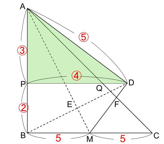 中学受験算数カンガープリント 直角三角形3:4:5 0605