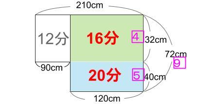 中学受験算数カンガープリント 水そうと水位01282
