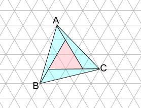 中学受験算数カンガープリント 斜め正三角形0102