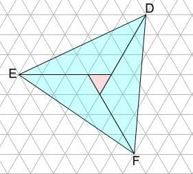 中学受験算数カンガープリント 斜め正三角形0103