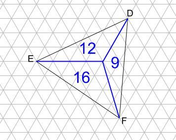 中学受験算数カンガープリント 斜め正三角形0104
