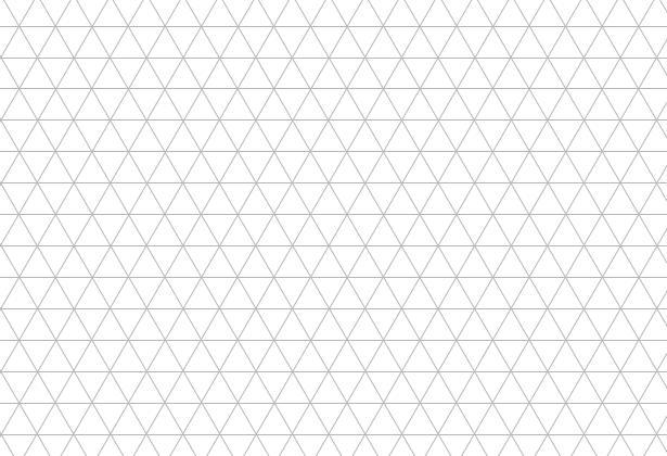 中学受験算数カンガープリント 斜め正三角形0105