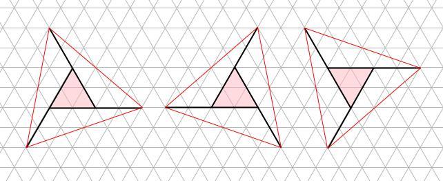 中学受験算数カンガープリント 斜め正三角形0112
