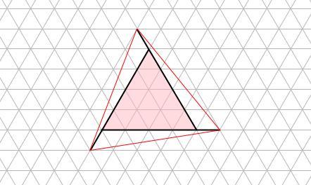 中学受験算数カンガープリント 斜め正三角形0115