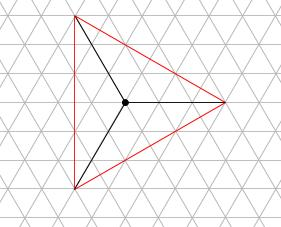 中学受験算数カンガープリント 斜め正三角形0117