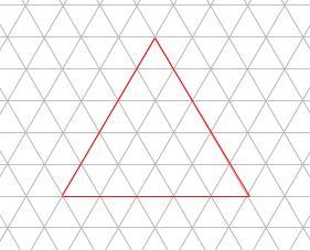 中学受験算数カンガープリント 斜め正三角形0118