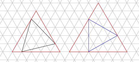 中学受験算数カンガープリント 斜め正三角形0119