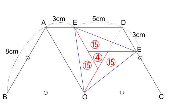 中学受験算数カンガープリント 斜め正三角形0720