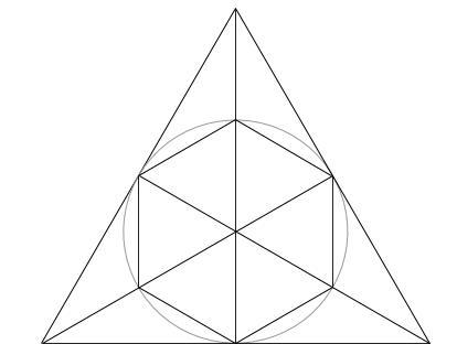 中学受験算数カンガープリント 正三角形・聖光01000