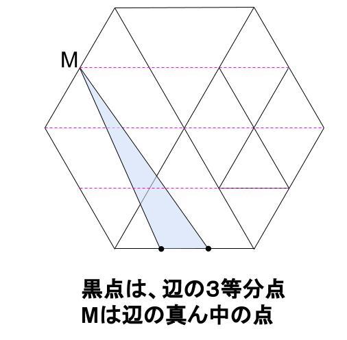 中学受験算数カンガープリント 正六角形0023