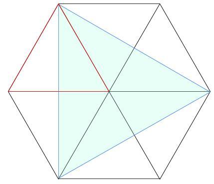 中学受験算数カンガープリント 正六角形0042