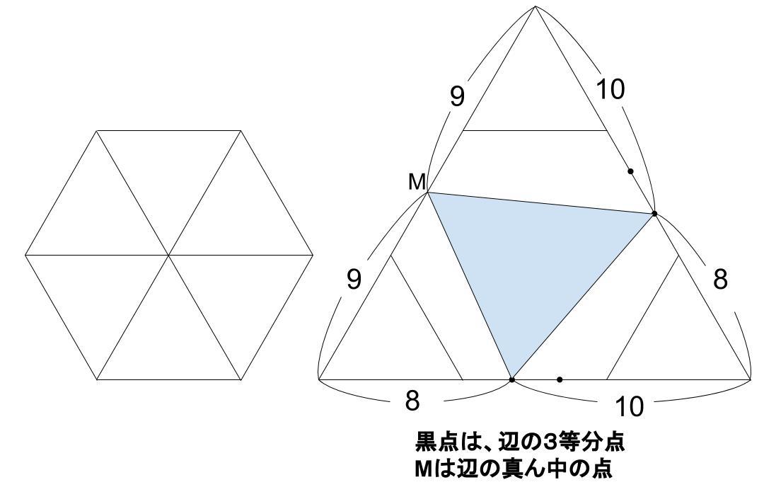 中学受験算数カンガープリント 正六角形0072