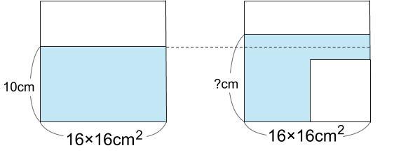 中学受験算å数カンガープリント 水そうと水位0012