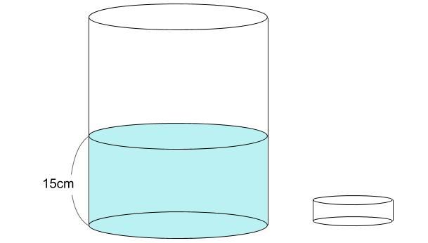 中学受験算数カンガープリント 水そうと水位0730