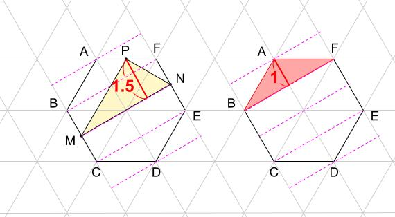 中学受験算数カンガープリント 正三角形・豊島ヶ丘0014
