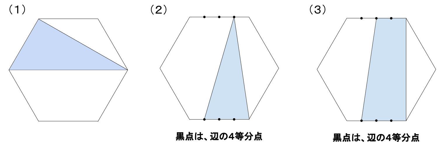 中学受験算数カンガープリント 正六角形0030-2