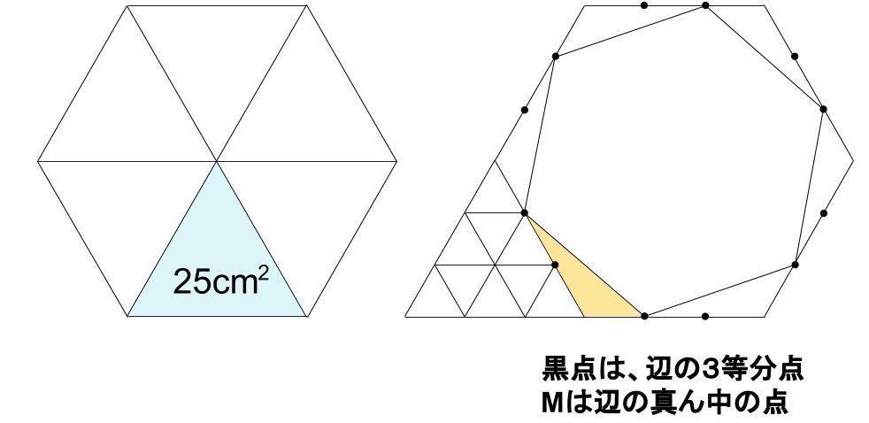 中学受験算数カンガープリント 正六角形0039-2