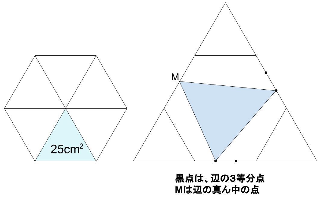 中学受験算数カンガープリント 正六角形0071-2