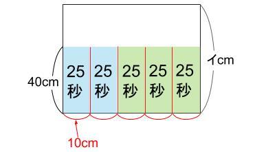 中学受験算数カンガープリント 水そうとグラフ0038