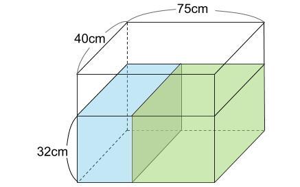 中学受験算数カンガープリント 水そうとグラフ0043