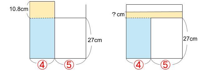 中学受験算数カンガープリント 水そうと水位0767