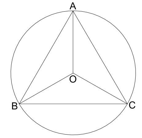 中学受験算数カンガループリント 正三角形と重心031-2
