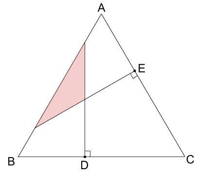中学受験算数カンガループリント 正三角形と重心030104