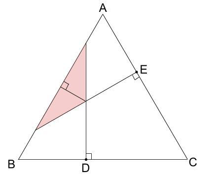 中学受験算数カンガループリント 正三角形と重心030106