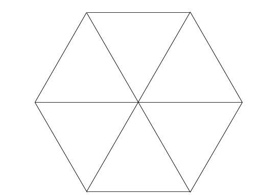 中学受験算数カンガループリント 正六角形001